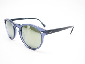 602d0b1f19a OLIVER PEOPLES GREGORY PECK DENIM BLUE BLACK CLASSIC RETRO STYLE UNISEX  SUNGLASSES