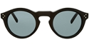 celine bevel round Cl 41370/S 807/G8 shiny black retro sunglasses
