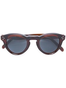 Celine Bevel round Transparent BrickCL41372/S 91EG8 retro flat lens sunglasses