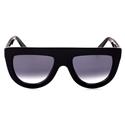 blac chyna, celine andrea, b frame ,oversized,hip hop style sunglasses flattop