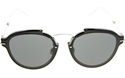 DIOR ECLAT RMG(P9) BLACK SILVER GREY OVAL WOMENS SUNGLASSES