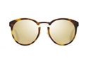DIOR ONDE1 DARK HAVANA 5FC(QV) DARK HAVANA BLACK DIOR LOGO ROUND FASHION SUNGLASSES