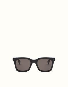 FENDI FF0216/S 807(70) BLACK SUN FUN SQUARE FENDI UOMO SQUARE WAYFARER STYLE SUNGLASSES