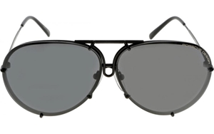 Porsche Design exclusive  P8478-D-6910-135-V343-E89 MATTE BLACK unique quick release oversize aviators,kardashian,jenner,depp,celebrity,unisex,large,lunettes,sonnenbrille,BROWN,BLUE