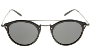 OLIVER PEOPLES REMICK OV5349S 146587 SEMI MATTE BLACK UNISEX ROUND AVIATOR STYLE SUNGLASSES