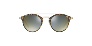 OLIVER PEOPLES  REMICK OV5349S 1623/Y9 PALMIER CHOCOLAT ROUND AVIATOR UNISEX SUNGLASSES