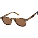 Celine preppy CL41801/S  light tortoiseshell sunglasses retro style tempered glass