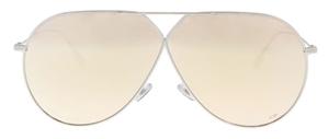 Diorstellaire3 0101sq palladium/gold mirrored womens aviators