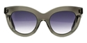 Victoria Beckham Layered Cat VBS103 C08 in Crystal with Blue gradient womens catseye sunglasses