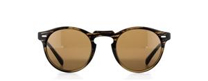 Oliver peoples Gregory Peck sun OV5217S 100153 TORTOISE (8108) round retro unisex sunglasses