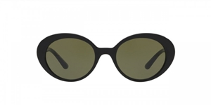 OLIVER PEOPLES THE ROW PARQUET OV5344SU 100552 IS A BLACK OVAL 90'S INSPIRED PAIR OF WOMEN'S SUNGLASSES