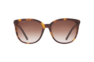 SWAROVSKI SK0146-H/S 52G DARK HAVANA ACETATE BROWN MIRROR WAYFARER WOMEN'S SUNGLASSES WITH SWAROVSKI DETAILING