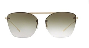 OLIVER PEOPLES ZIANE OV1217/S 52368E ANTIQUE GOLD WOMEN'S CLASSIC AVIATOR