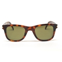 SAINT LAURENT SL 51/F SLIM 002 HAVANA GREEN WAYFARER STYLE SUNGLASSES