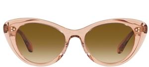 Oliver Peoples Rishell blush catseye sunglasses
