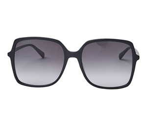 Gucci Black grey gradient butterfly sunglasses GG0544/S 001
